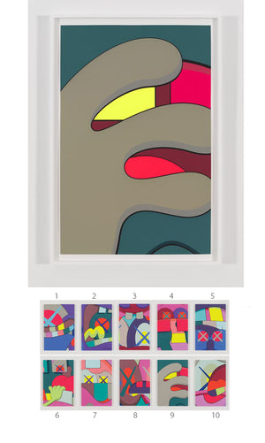 "KAWS ""UPS AND DOWNS"" Print #9"