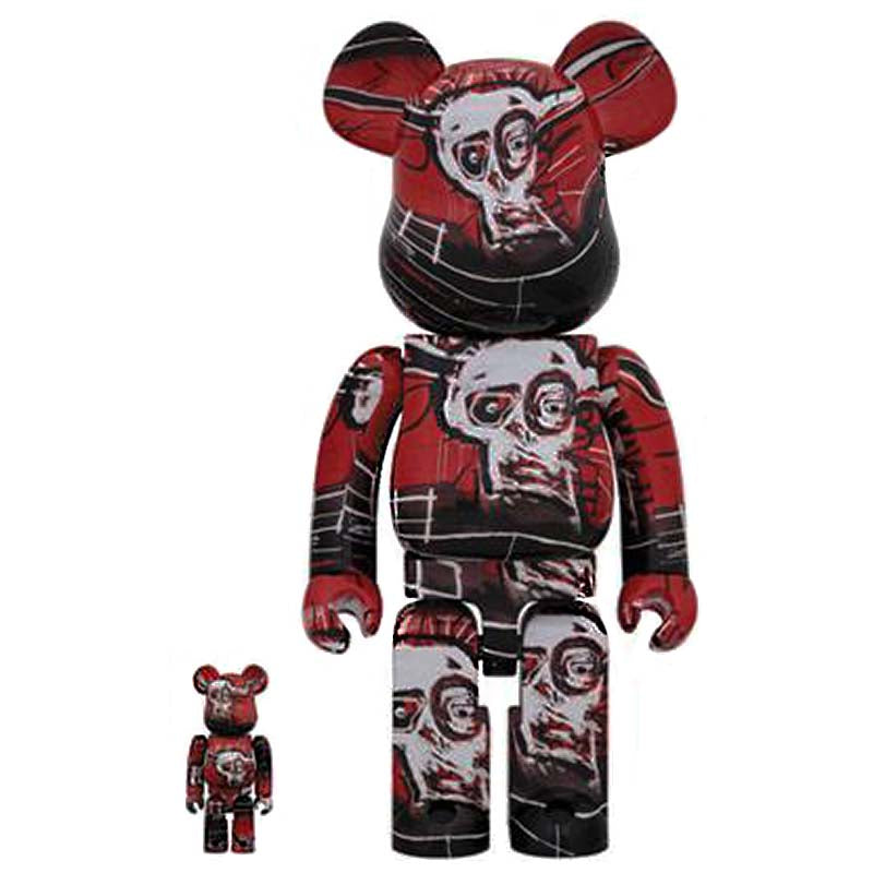 BE@RBRICK Jean Michel Basquiat Vol.5 100% & 400%