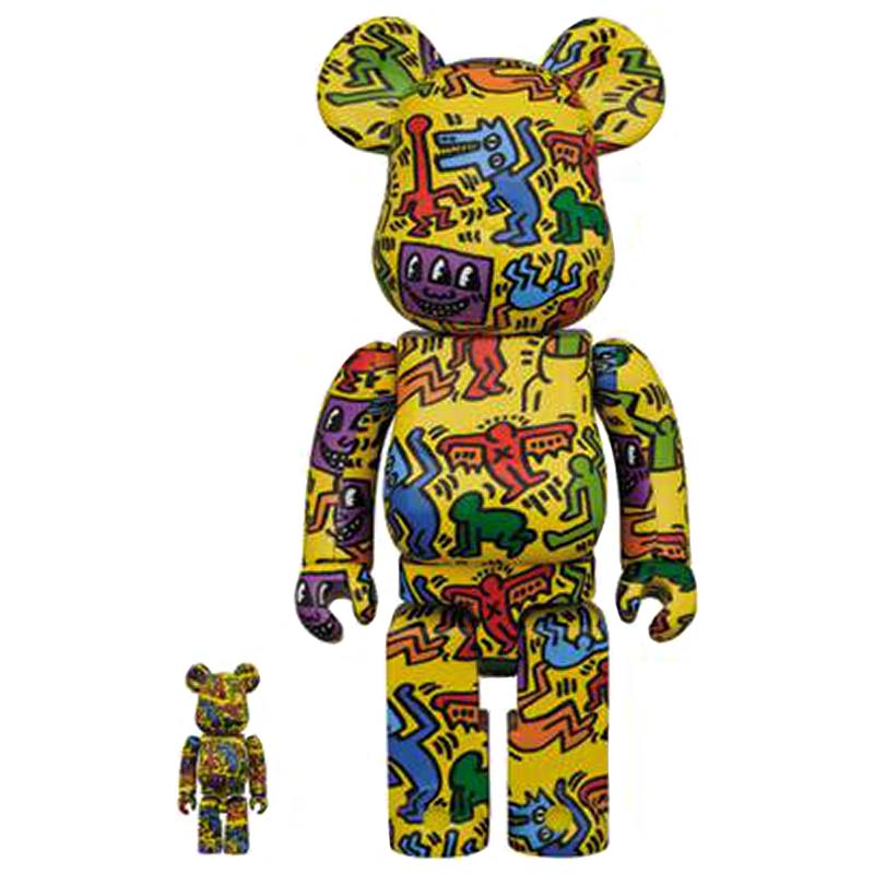 BE@RBRICK Keith Haring Vol.5 100% & 400% Set