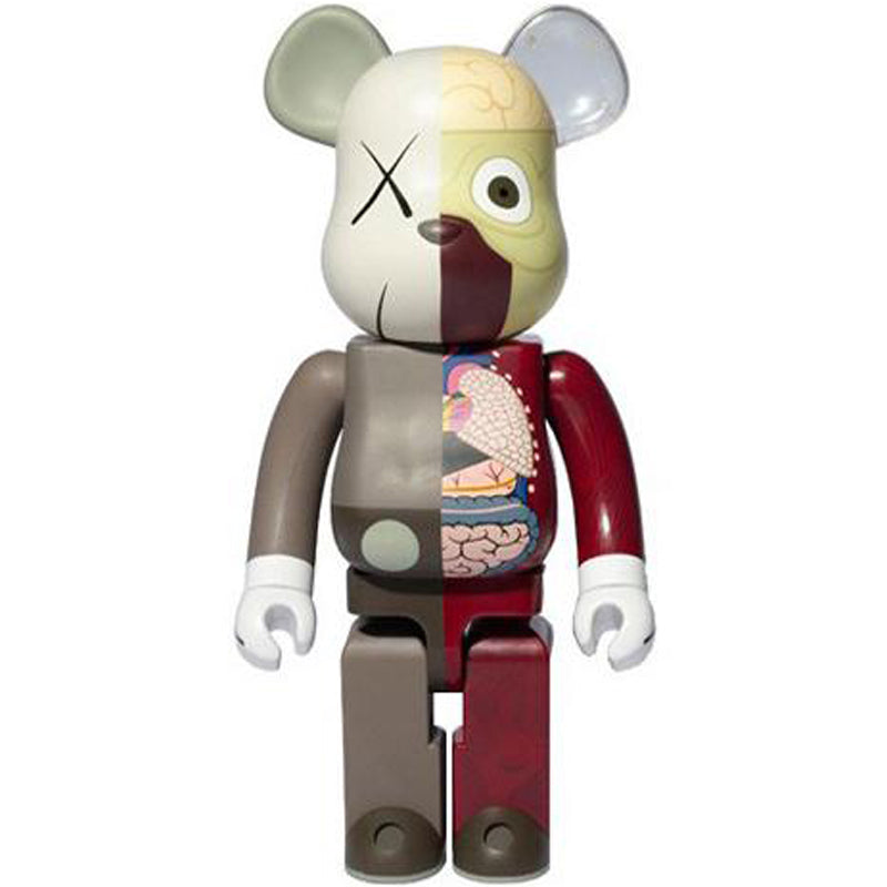 KAWS Dissected Bearbrick 1000% | Brown