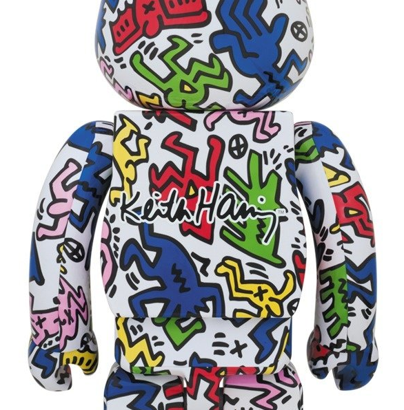 Keith Haring Bearbrick 100% + 400% set