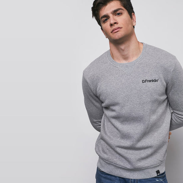 Sweatshirt D.Franklin Black / Grey