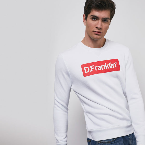 Sweatshirt Mitic D - White