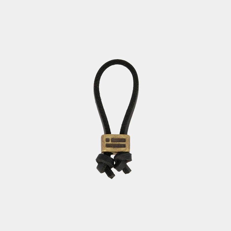 Keychain Magnum Leather Black/Gold