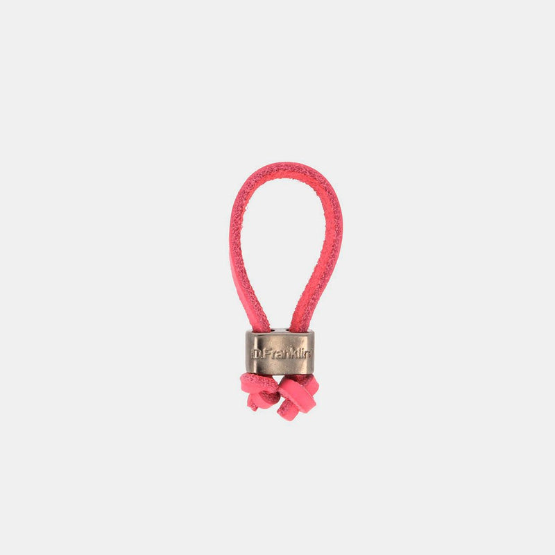 Keychain Jeroboam Leather Pink/Metal