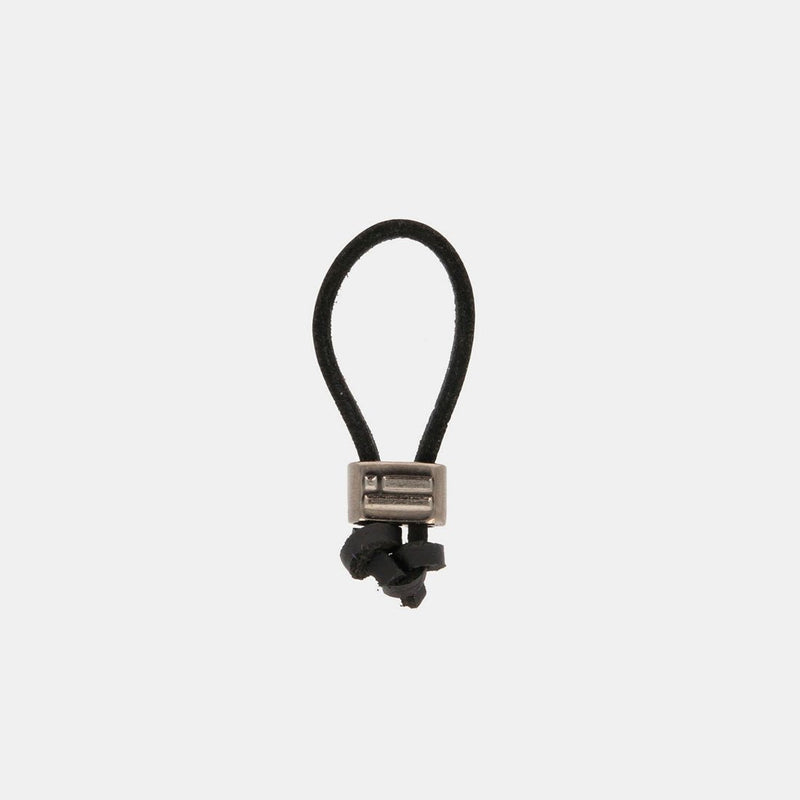 Keychain Jeroboam Leather Black/Metal