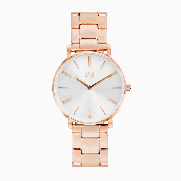 Classy Rose Gold / White