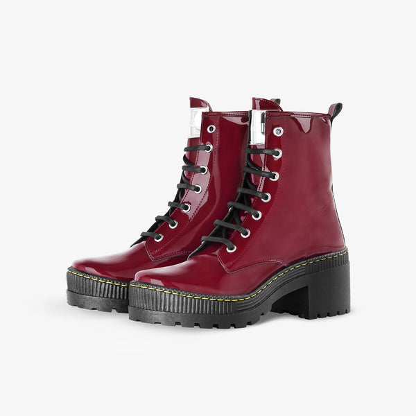 Megan Patent Bordeaux
