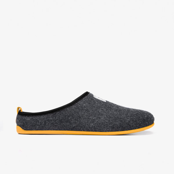 Mercredy Slipper Black / Yellow