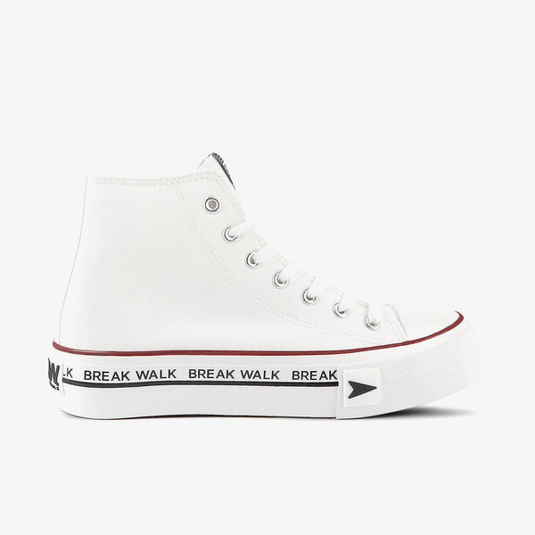 Sneakers Bay High Top Platform White