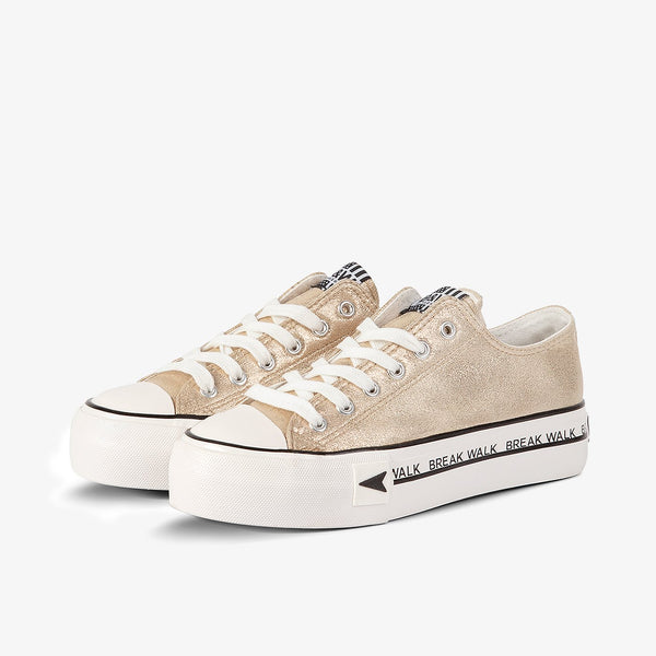Sneakers Bay Platform Gold