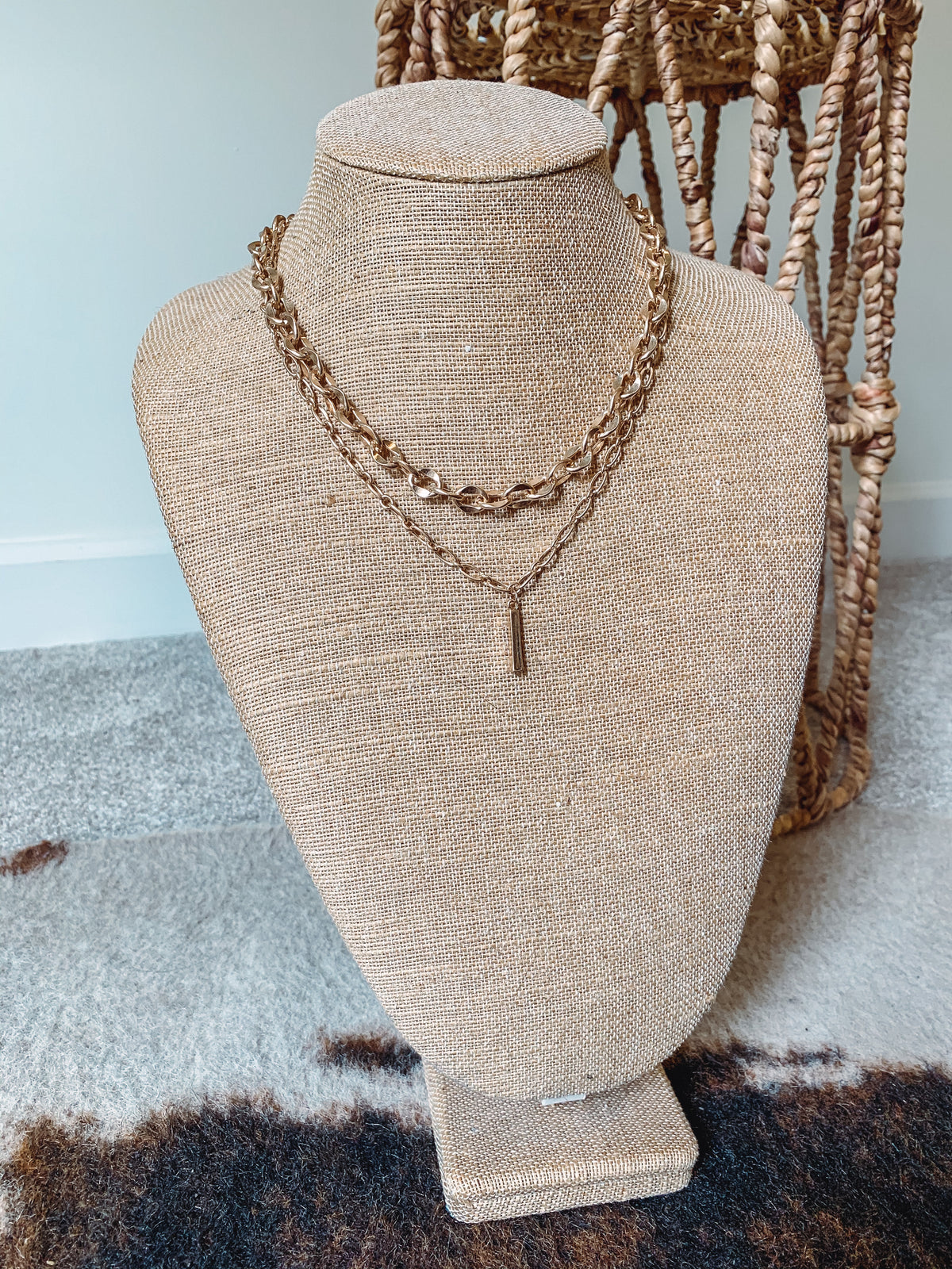 Bar & Chain Necklace