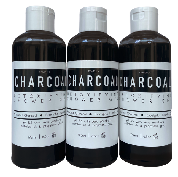 Charcoal Detoxifying Shower Gel