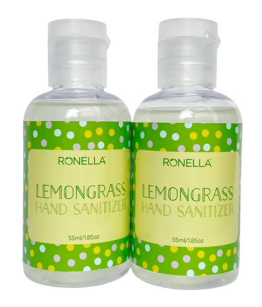 Hand Sanitizer with Lemongrass essential oil