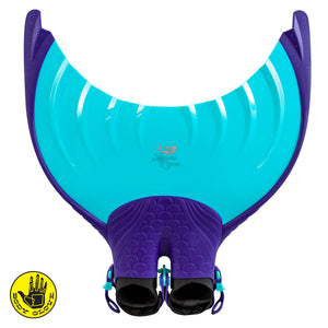 Adult Mermaid Linden Monofin by Body Glove - Ultramarine Purple