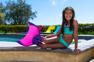 Kids Mermaid Linden Monofin by Body Glove - Pink