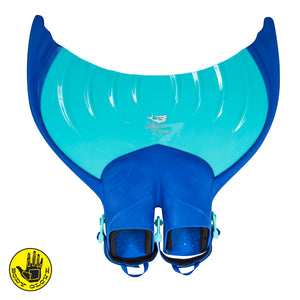 Kids Mermaid Linden Monofin by Body Glove - Blue