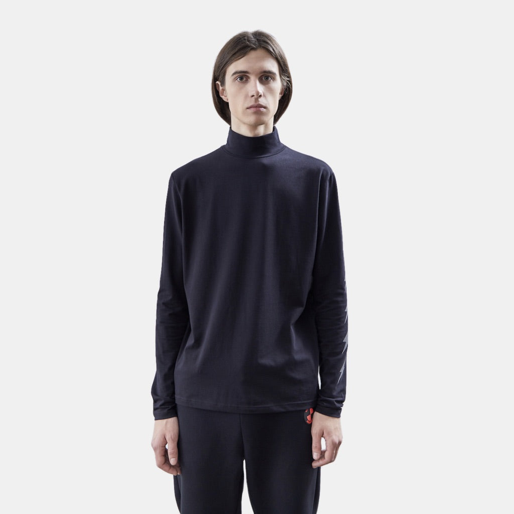 Lightning Black Turtleneck