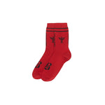 Demon Red Socks