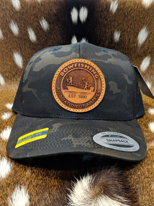 BAA Leather Patch Hat