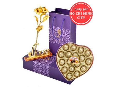 Golden Rose 24k and Sweet chocolate