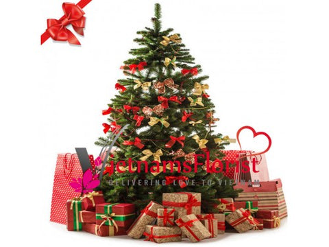 Happy Christmas Tree 120cm