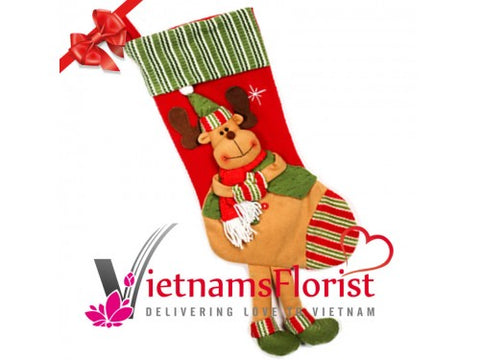 Rudolph Christmas Socks