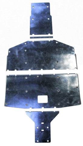 HONDA PIONEER 700-4 SKID PLATE w/ BUILT-IN ROCKERS