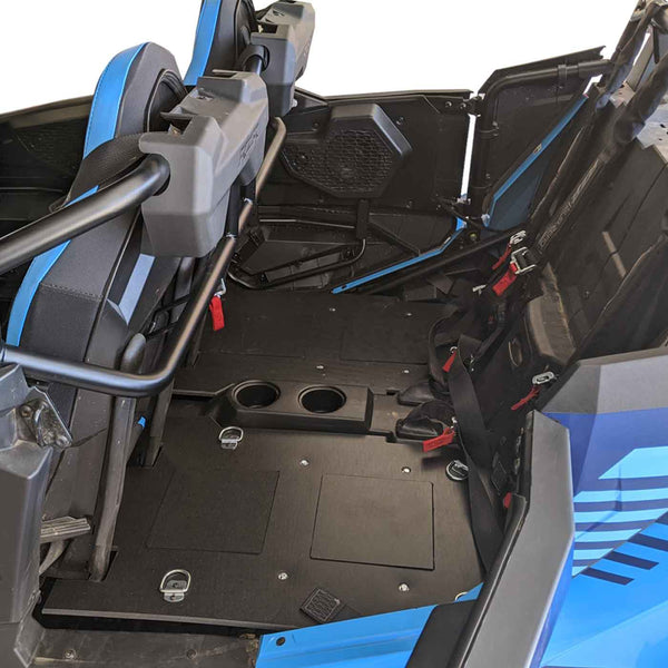 Cargo Rack / Dog Seat - Back Seat Conversion Kit | Polaris RZR XP 4 Turbo S