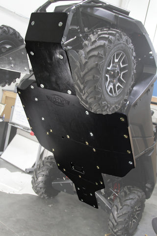 HP 700 SKID PLATE w/ BUILT-IN ROCKERS