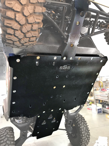 TEXTRON WILDCAT XX SKID PLATE w/ BUILT-IN ROCKERS
