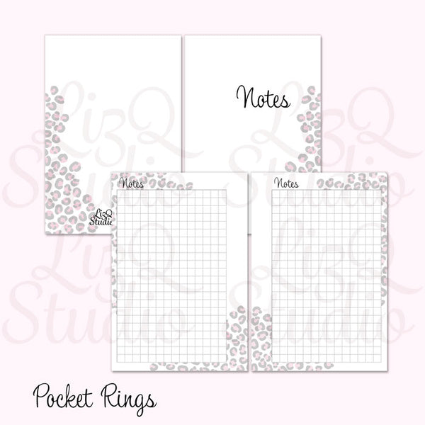 003 Pink Leopard Notes
