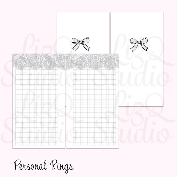 014 Lace Grid Gray