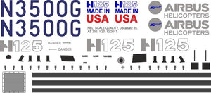 AS 350 Ecureuil Decals