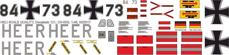 Sikorsky CH-53 Decals