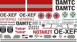 Eurocopter EC 135 Decals
