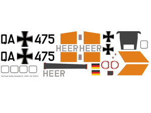Sikorsky S-58 / H-34 / S-58T / UH-34 Decals