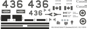 Sikorsky S-61 Sea King Decals