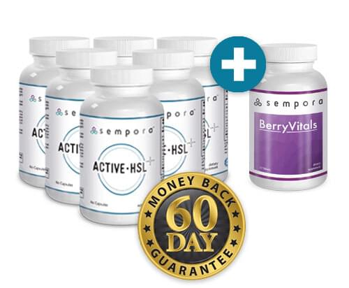 Active-HSL Transformation Package: 6 Active-HSL + FREE BerryVitals