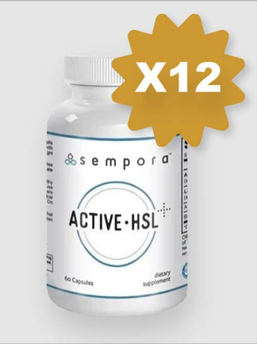12 Bottles Active-HSL New Customer Discount