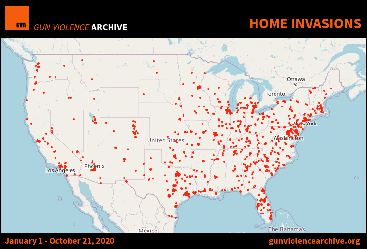 Home Invasion Data