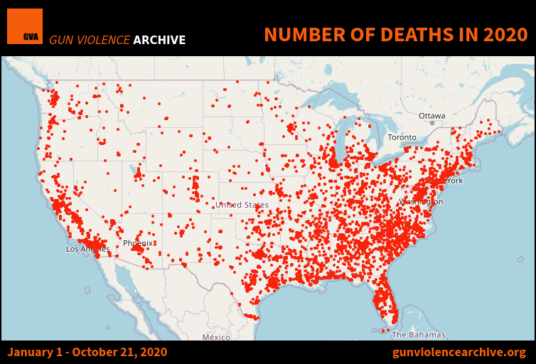 Incidents in 2019 | Gun Violence Archive