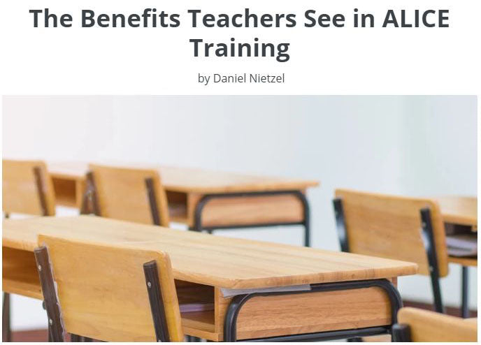 The Benefits Teachers See in ALICE Training