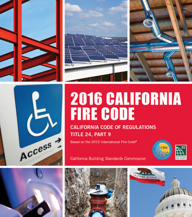 2016 California Fire Code