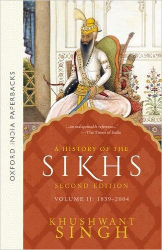 A History of the Sikhs Volume 2
