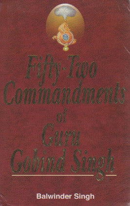 Fifty-two Commandments of Guru Gobind Singh