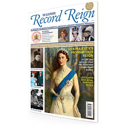 The Illustrated Record Reign Bookazine by ILN