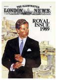 Royal Issue, original artwork, 1989 by Neil McDonald