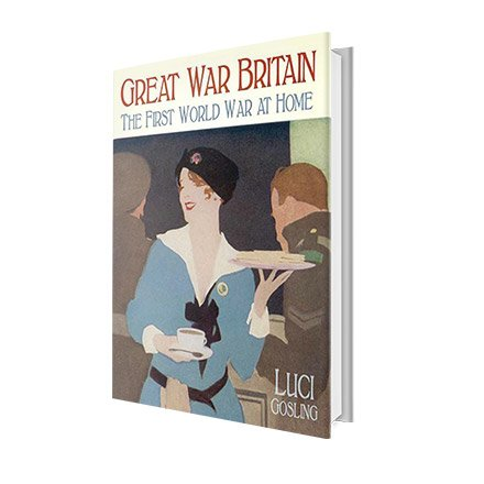 GREAT WAR BRITAIN - BOOK , The First World War at Home by Lucinda Gosling