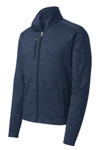 Load image into Gallery viewer, Port Authority® Digi Stripe Fleece Jacket